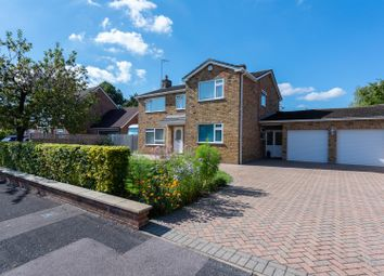 Thumbnail 4 bed detached house for sale in Neville Close, Basingstoke