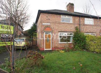 Thumbnail 2 bed semi-detached house to rent in Dalton Avenue, Bewsey, Warrington