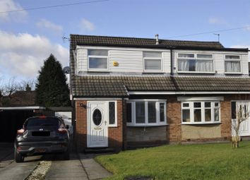 Thumbnail 3 bed semi-detached house for sale in Crantock Drive, Stalybridge