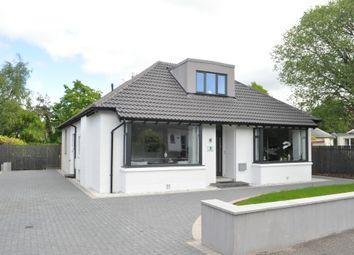 Thumbnail 4 bed detached bungalow for sale in Elm Avenue, Lenzie, East Dunbartonshire