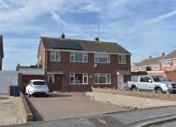 Thumbnail 3 bed semi-detached house for sale in Churchill Grove, Newtown, Tewkesbury
