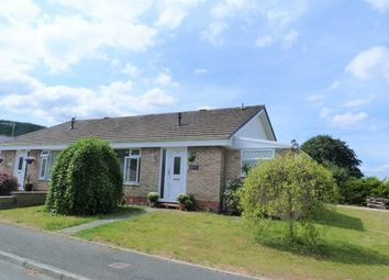 Thumbnail 2 bed bungalow for sale in Gerddi Cledan, Carno, Caersws, Powys