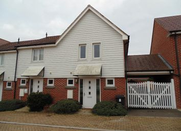 Thumbnail End terrace house to rent in Marnel Park, Basingstoke