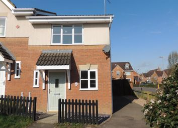 Thumbnail 2 bed semi-detached house for sale in Wheat Close, Lang Farm, Daventry