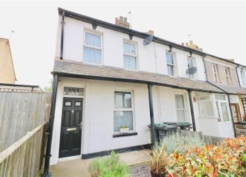 Thumbnail 2 bed end terrace house for sale in Whitehill Road, Gravesend