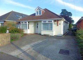 Thumbnail 3 bedroom detached bungalow for sale in Heath Avenue, Oakdale, Poole