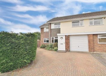 Thumbnail 4 bed semi-detached house for sale in Hawthorn Close, Wallingford
