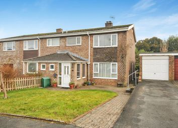 Thumbnail 3 bed semi-detached house for sale in Church Close, Llangynidr NP81Ny,