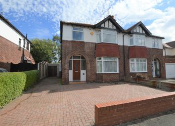 Thumbnail 3 bed semi-detached house for sale in Fieldway, Hoole, Chester