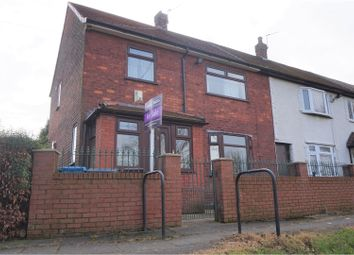 Thumbnail 3 bed end terrace house for sale in Colwell Walk, Manchester