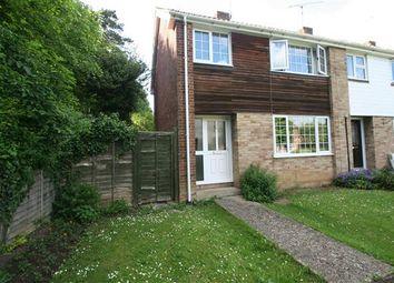 Thumbnail 3 bed end terrace house for sale in Kings Furlong, Basingstoke, Hampshire