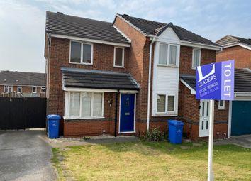 2 bed semi-detached house to rent in Danebridge Crescent, Oakwood, Derby DE21