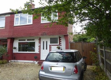 Thumbnail 3 bed semi-detached house for sale in Hollyway, Manchester, Northenden