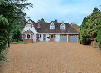 Thumbnail 5 bed detached house for sale in Heath Road, Thorpe End, Norwich
