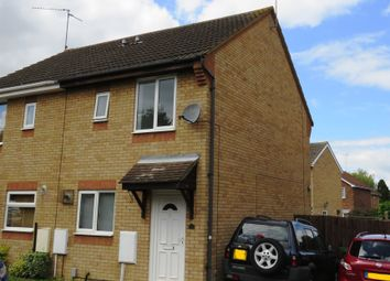 Thumbnail 2 bedroom semi-detached house for sale in Fletton Fields, Peterborough