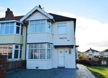 Thumbnail 3 bed semi-detached house for sale in Waverley Avenue, Blackpool