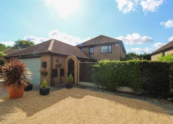 Thumbnail 4 bed detached house for sale in Station Road, Great Billing, Northampton