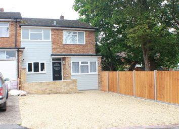 Thumbnail 3 bed semi-detached house for sale in Heath Road North, Locks Heath, Southampton