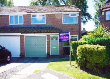 Thumbnail 3 bed semi-detached house for sale in Newby Close, Stockton-On-Tees