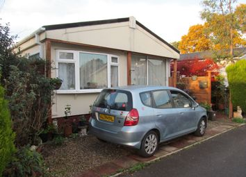 Thumbnail 2 bed mobile/park home for sale in Hillbury Park, Hillbury Road, Alderholt, Fordingbridge, Hampshire