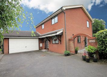 Thumbnail 4 bed detached house for sale in Edge Hill, Wood End, Atherstone