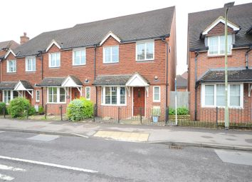 Thumbnail 3 bed end terrace house for sale in Church Lane, Shinfield, Reading