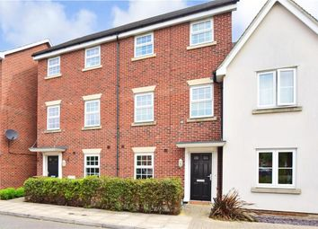 Thumbnail 4 bed town house for sale in Oswald Drive, Rochester, Kent
