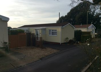 Thumbnail 2 bed mobile/park home for sale in Stokes Bay Mobile Home Park, Stokes Bay Road, Gosport