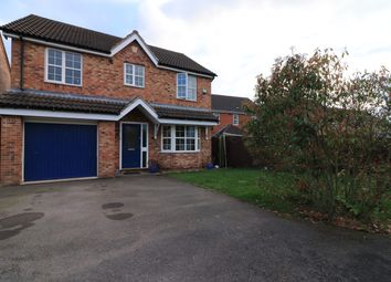 Thumbnail 4 bedroom detached house for sale in Oberon Close, Lincoln