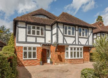 Thumbnail 5 bed detached house for sale in Lower Green Road, Esher, Surrey