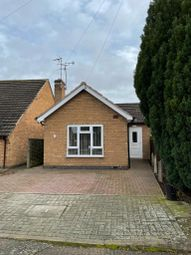 Thumbnail 2 bed bungalow to rent in Oakside Close, Leicester