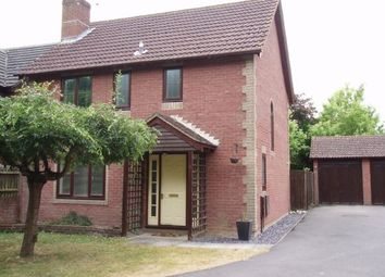 Thumbnail 3 bedroom detached house to rent in Forge Close, Bramley, Tadley