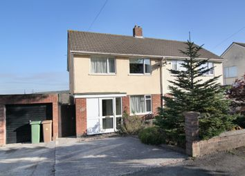 Thumbnail 3 bed semi-detached house for sale in Stanborough Road, Plymstock, Plymouth