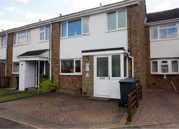 Thumbnail 3 bed terraced house for sale in Roedean Close, Luton