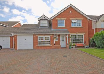 Thumbnail 5 bed detached house for sale in St Cuthberts Way, Holystone, Newcastle Upon Tyne
