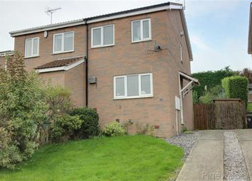 Thumbnail 2 bed semi-detached house to rent in Setts Way, Wingerworth, Chesterfield, Derbyshire