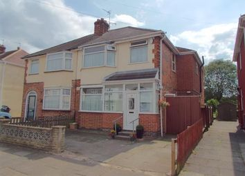 Thumbnail 4 bedroom semi-detached house for sale in Shetland Road, Leicester, Leicestershire