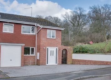 Thumbnail 4 bed semi-detached house for sale in Milcote Close, Greenlands, Redditch