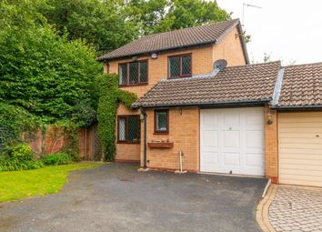 Thumbnail 3 bed link-detached house for sale in Maywell Drive, Solihull