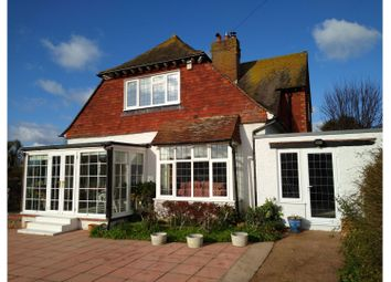 Thumbnail 4 bed detached house for sale in Rother Road, Seaford