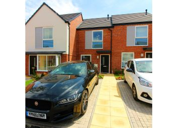 Thumbnail 2 bedroom town house for sale in Walnut Close, Bilston