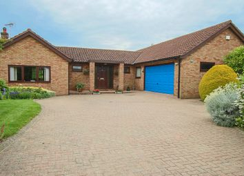 Thumbnail 4 bed detached bungalow for sale in West Drive, Highfields Caldecote, Cambridge