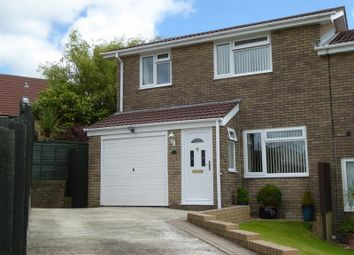 Thumbnail 3 bed semi-detached house for sale in Hunters Ridge, Brackla, Bridgend.