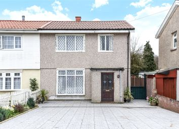 Thumbnail 3 bed semi-detached house for sale in Bramshaw Gardens, Watford, Hertfordshire