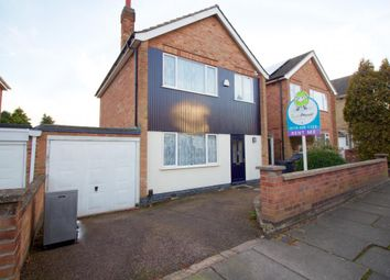 Thumbnail 4 bed detached house to rent in St. Helens Close, Leicester