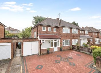 Thumbnail 3 bed semi-detached house for sale in Porcupine Close, London
