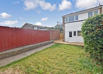 Thumbnail 3 bedroom end terrace house for sale in Meadowside, Angmering, West Sussex