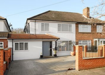 Thumbnail 4 bed semi-detached house for sale in Windermere Road, Kingston Vale, London