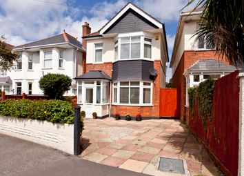 Thumbnail 4 bed detached house for sale in Heatherlea Road, Southbourne, Bournemouth