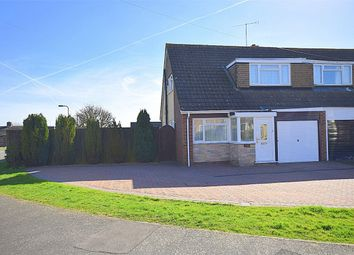 Thumbnail 3 bedroom semi-detached house for sale in Dovecote Road, Roade, Northampton